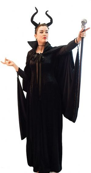 Plus size Evil Stepmother Halloween costume
